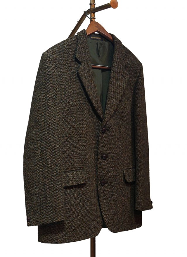 70's UK Vintage Harris Tweed × Dunn & Co. Jacket #0010<img class='new_mark_img2' src='https://img.shop-pro.jp/img/new/icons8.gif' style='border:none;display:inline;margin:0px;padding:0px;width:auto;' />