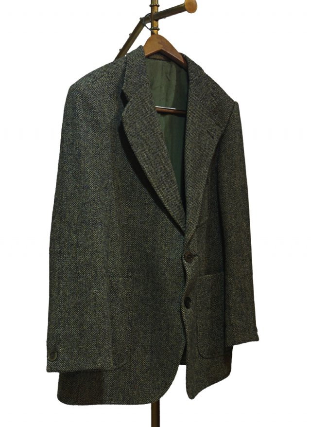 70's UK Harris Tweed Vintage Jacket #0011<img class='new_mark_img2' src='https://img.shop-pro.jp/img/new/icons8.gif' style='border:none;display:inline;margin:0px;padding:0px;width:auto;' />