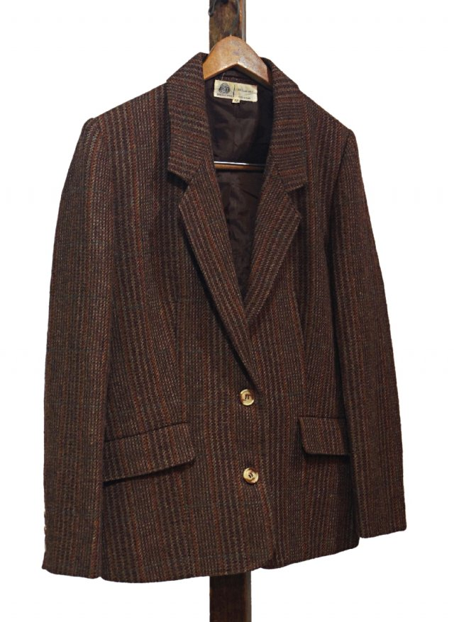 Vintage Tweed Jacket #0038<img class='new_mark_img2' src='https://img.shop-pro.jp/img/new/icons8.gif' style='border:none;display:inline;margin:0px;padding:0px;width:auto;' />