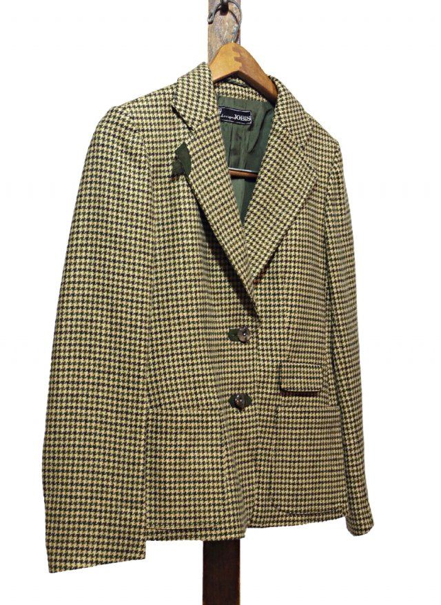 Vintage Gun Club Check Wool Jacket JOBIS #0050<img class='new_mark_img2' src='https://img.shop-pro.jp/img/new/icons8.gif' style='border:none;display:inline;margin:0px;padding:0px;width:auto;' />