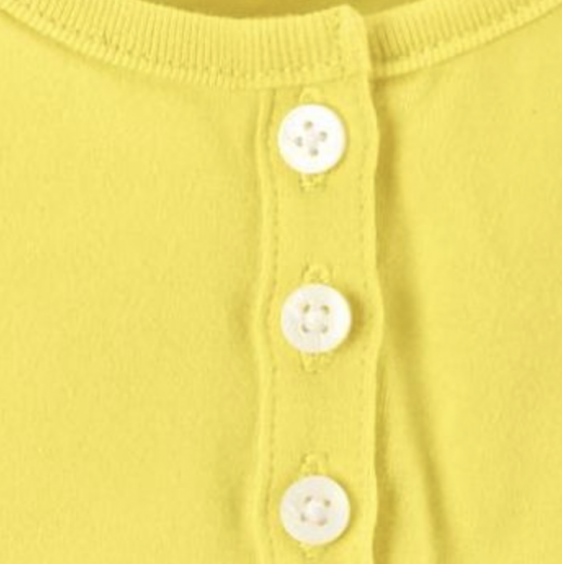 b95f52422b6be  カーターズ 3pk ボディスーツ ロンパース 半袖フリルボディスーツ3枚組 半袖フリルロンパース 女の子ベビー服(レモン)