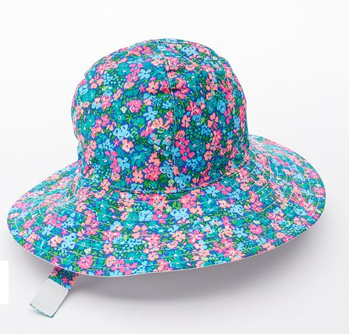 【Carter's】Floralフラワー サンハット