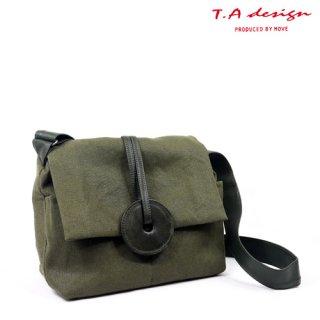 """T.A design:""""Button""""ショルダー【Khaki】"""