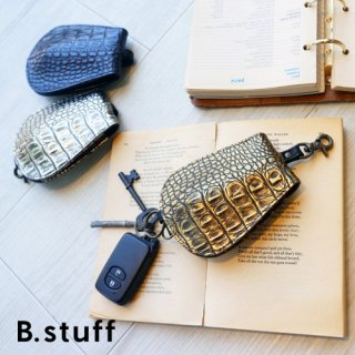 "B.stuff :""Metallic Croco"" キーケース"