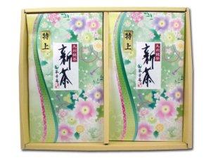 H5805 【新茶】 嬉野・特上煎茶 2本入(九州・佐賀県産)