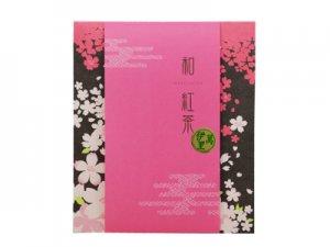H5106 伊萬里・和紅茶ティーバッグ 桜柄飾り袋入(九州佐賀県産)※ネコポス・郵便レターパック可