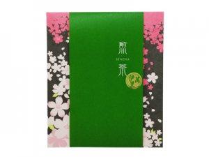 H5107 伊萬里・煎茶ティーバッグ 桜柄飾り袋入(九州佐賀県産)※ネコポス・郵便レターパック可