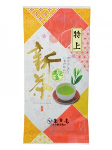 H5519 【新茶】鹿児島・特上煎茶100g入(九州・鹿児島県産) ※ネコポス・郵便レターパック可