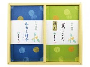 H161 夏ごころ(嬉野特上煎茶)、嬉野水出し緑茶2本入