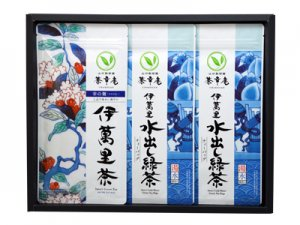 H8386 伊萬里茶・伊萬里水出し緑茶詰合せ