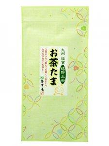 H841 【お茶たま】九州産佐賀県 嬉野玉茶80g入 ※ネコポス・郵便レターパック可
