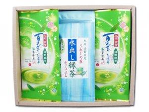 H129 夏茶だより&水出し緑茶セット(九州・佐賀県産 嬉野茶)