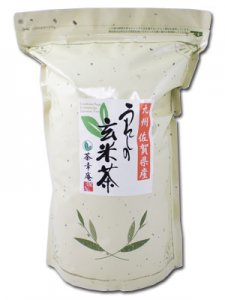 H1411 たっぷりお徳用・業務用 九州産佐賀県【嬉野玄米茶】1kg入