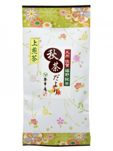H3027 秋茶だより(九州産佐賀県 嬉野上煎茶100g入)【期間限定】 ※ネコポス・郵便レターパック可<img class='new_mark_img2' src='https://img.shop-pro.jp/img/new/icons25.gif' style='border:none;display:inline;margin:0px;padding:0px;width:auto;' />
