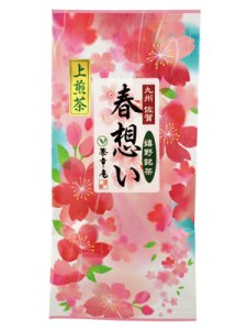 H5105 春想い100g入(九州佐賀県産・嬉野上煎茶)【期間限定】 ※ネコポス・郵便レターパック可