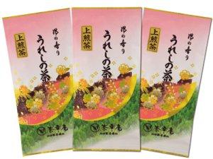 H3912 九州・佐賀県産 嬉野上煎茶100g入3袋でお買得 ※ネコポス・郵便レターパック可