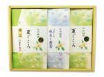 H145 夏ごころと水出し煎茶セット(九州・佐賀県産 嬉野茶)