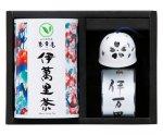 H8303 伊万里焼風鈴【透かし桜】&伊萬里茶セット(九州・佐賀県産)