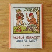 チェコ ボードブック絵本 VESELE OBRAZKY 1985年 Josef Lada/ヨゼ・フラダ