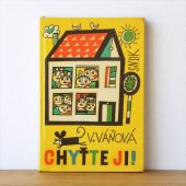 チェコの絵本CHYTTE JI! 1961年 ヤン・クビーチェク/Jan Kubicek