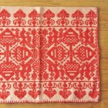 ハンガリー 刺繍のピローケースPI×RE