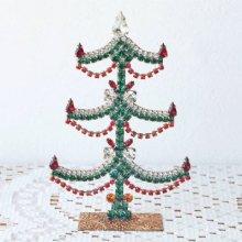 チェコスロバキア時代 ラインストーンのクリスマスツリーM/GR×RE