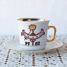 チェコスロバキア時代のカップ&ソーサー 古い時計82
