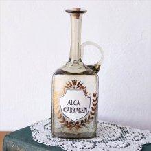 ドイツ アンティークの薬瓶 ALGA CARRAGEN