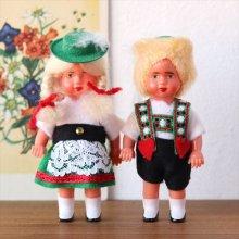 オーストリア チロル民族衣装のミニチュアドールセット