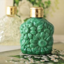 チェコ ボヘミアガラス 香水瓶 マーガレットMGR