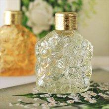 チェコ ボヘミアガラス 香水瓶 マーガレットLYE