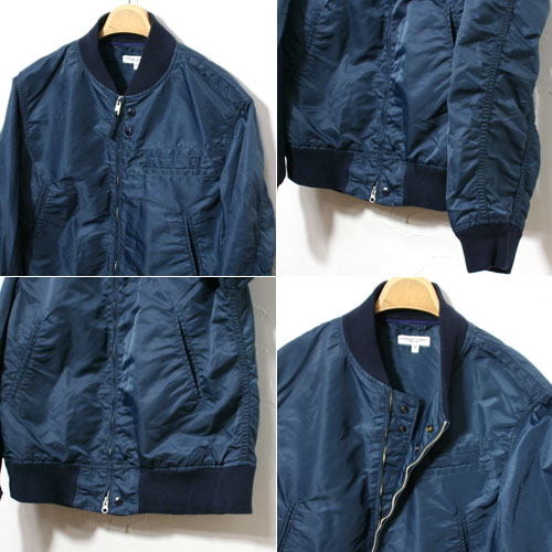 Engineered Garments,エンジニアドガーメンツ通販,EngineeredGarmentsAviatorJacketFlightSateen