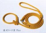 柴犬リード3 Plus ピュアオレンジ(引き綱)