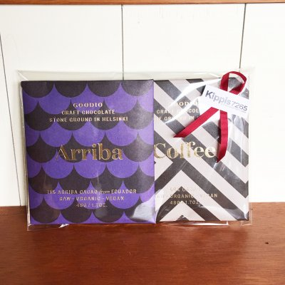 【GOODIO】2Chocolate&2coffee gift set