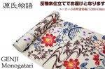 源氏物語-紅型調浴衣 綿70%麻30% 反物久-7