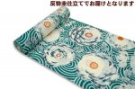 SALE 岡重-反物浴衣 ぐるぐる菊 30Y-20