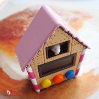 【Hashy】お菓子の家♪鳩時計のキッチンタイマー/とび出すお菓子なクック−タイマー/クッキー