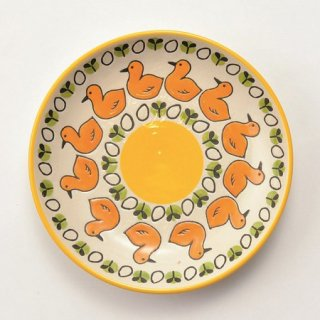 【アウトレット・箱潰れ】KEYSTONE(キーストーン)ヒヨコとたまごの子ども用食器・お皿/コドモグ・プレート/チキン