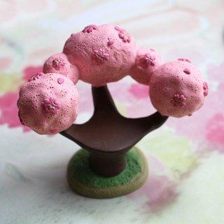【生産終了】DECOLE デコレ*ミニチュア用・桜の椅子*座れる桜 concombreコンコンブル ひな祭り