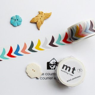 【mt×mina】【bird grande・mix 】約3cm幅*ミナ ペルホネン・渡り鳥たち マスキングテープ/北欧デザイン1pc