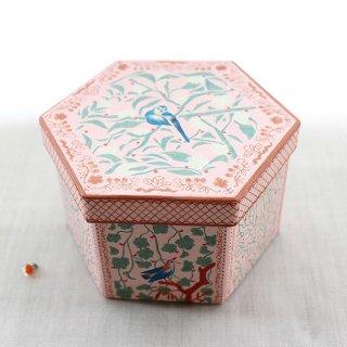 シャルムコレクションボックス【ピンク*ブルーバード】青い鳥の紙箱