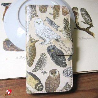 【生産終了・ラスト3!】【CP送料込】「フクロウ目の鳥類 / スマホケース / iPhone6/6s専用」Molly Tippett / PalnartPoc雑貨【雑誌掲載商品】