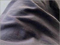 【60ダブルガーゼ 生地】VANCET*ウルトラワッシャー*smoke purple*E13