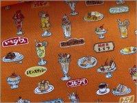 【スケア 生地】昭和ノスタルジア*パフェ*orange*2B