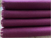 【11号帆布 生地】無地*ハンプ*raspberry purple*G275