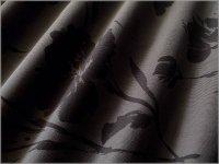 【コーデュロイ 生地】シャツコール*水彩フラワー*charcoal*571E
