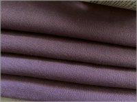 【ダブルガーゼ 生地】無地*Wガーゼ*カムフィット加工*purple*T8