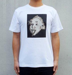 [EINSTEIN MOSAIC] T-Shirts (WHITE)