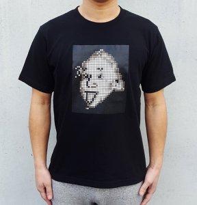 [EINSTEIN MOSAIC] T-Shirts (BLACK)