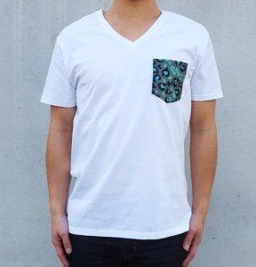 [LEOPARD CAMO] POCKET T-Shirts (WHITE)